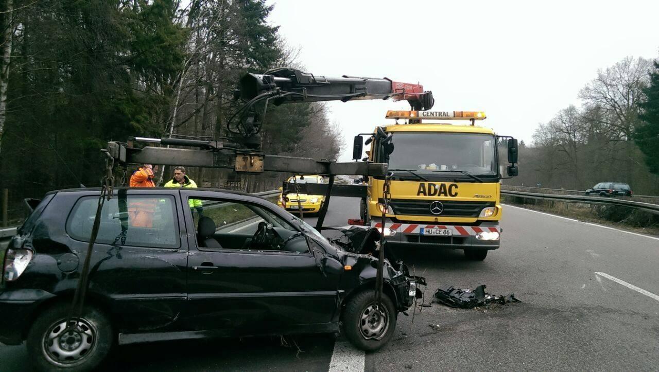 Frontschaden-Unfall