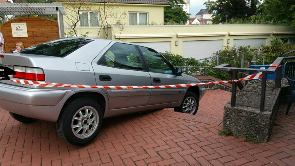 Unfall-Treppe