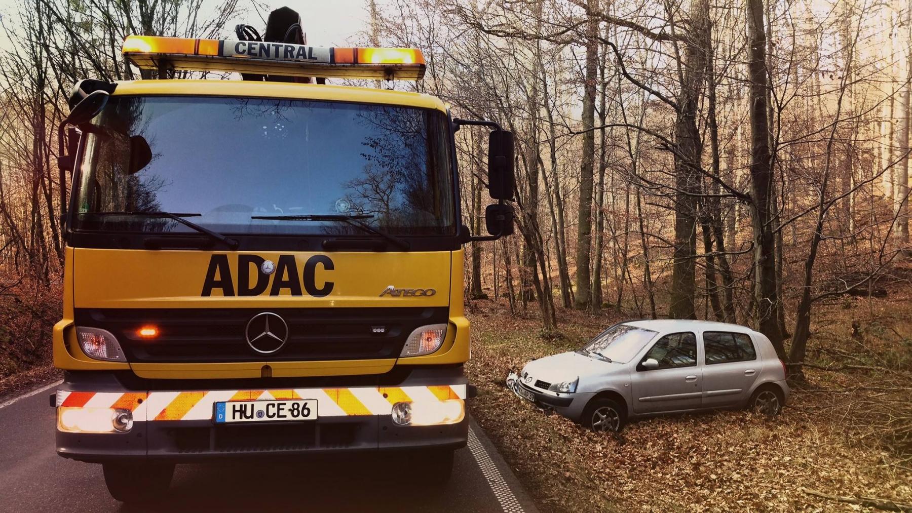 Unfall-Wald