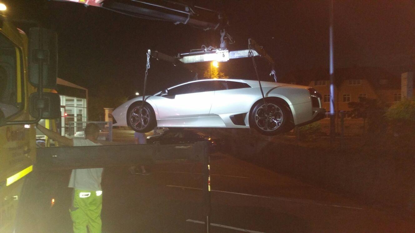 Verladen-Lamborghini